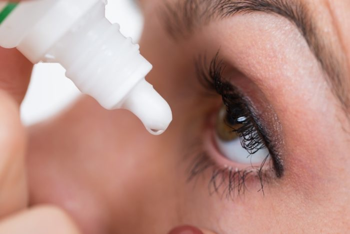 caring for dry eyes