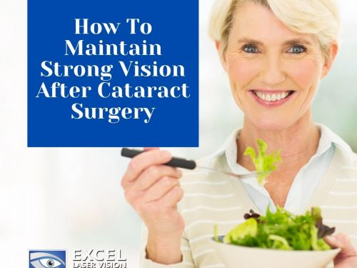 How To Maintain Strong Vision After Cataract Surgery