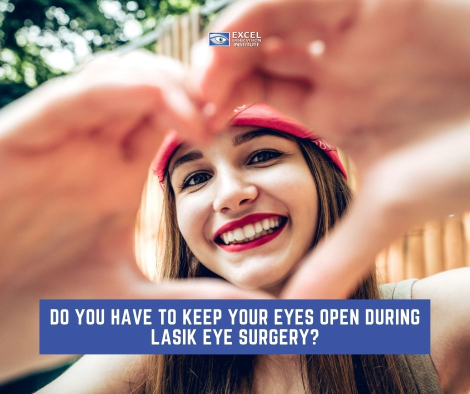 how you keep your eyes open during the LASIK eye procedure in Orange County facebook
