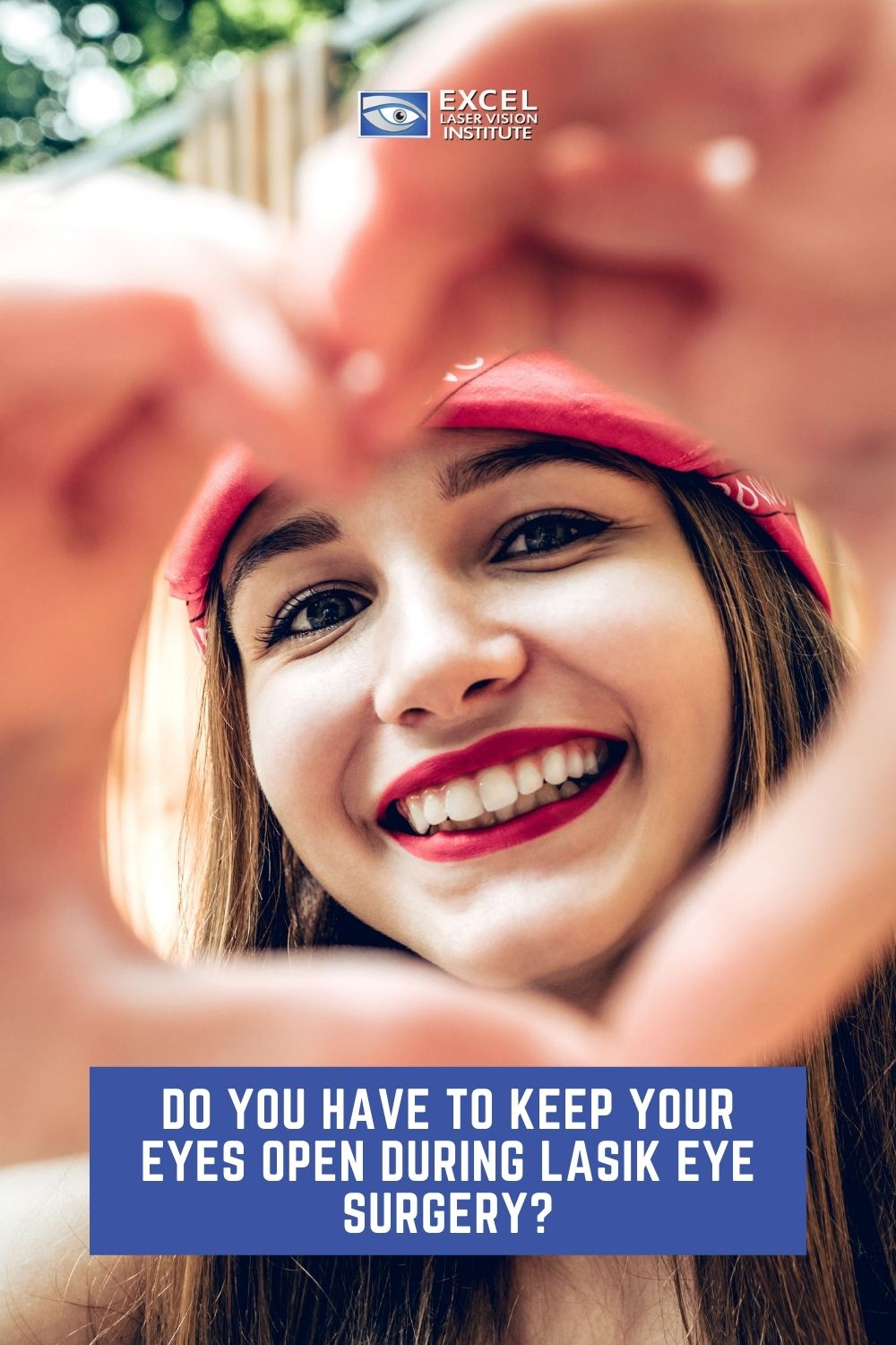 The LASIK eye doctors in Orange County talk to us about keeping your eyes open during the LASIK procedure.